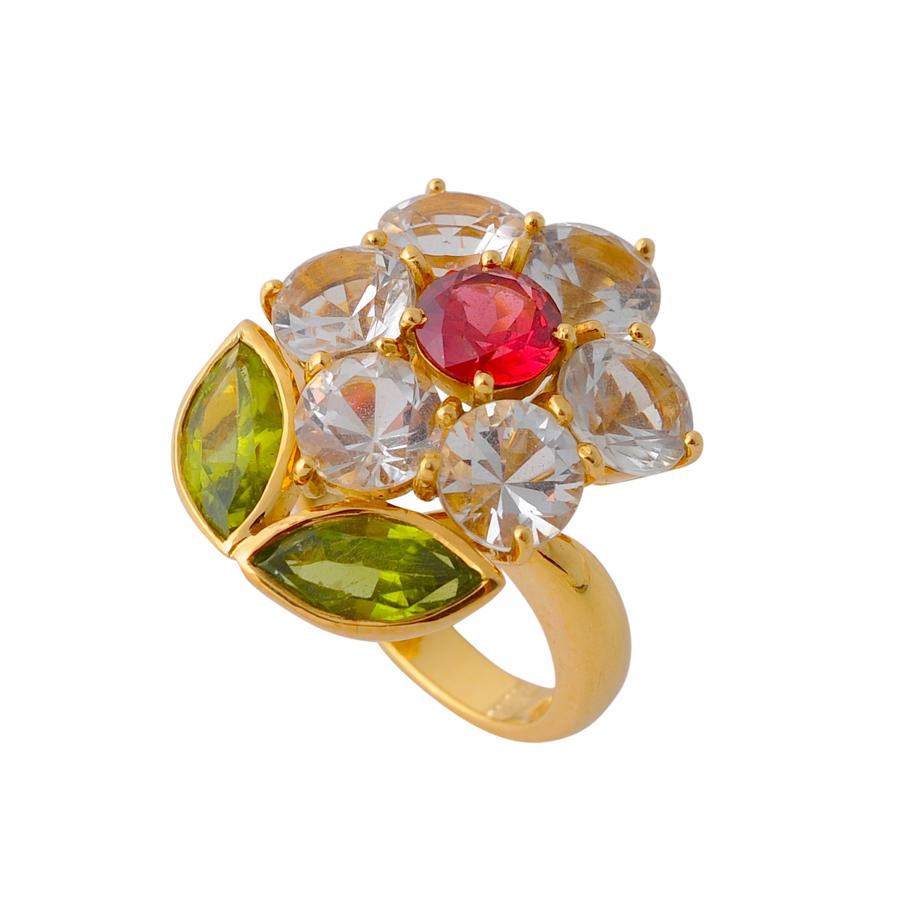 お花 指輪(2)