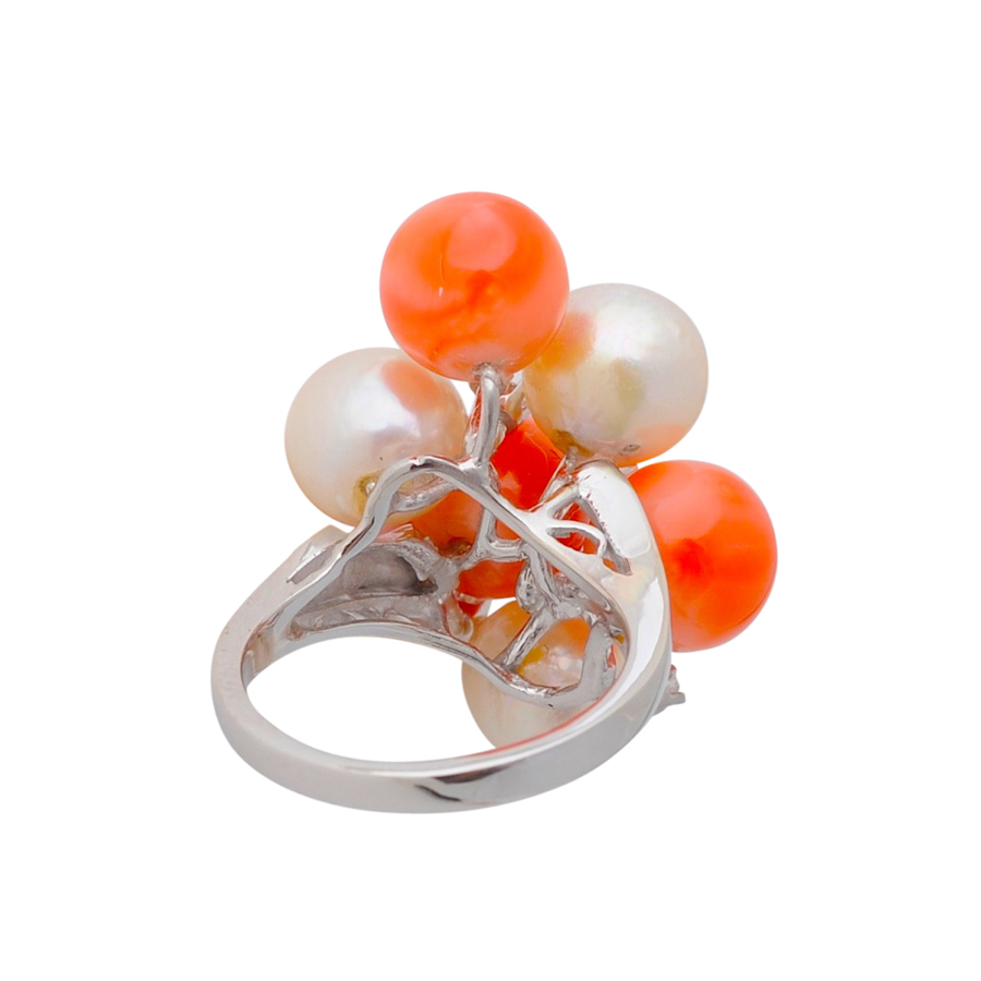 千両紅白 指輪(3)
