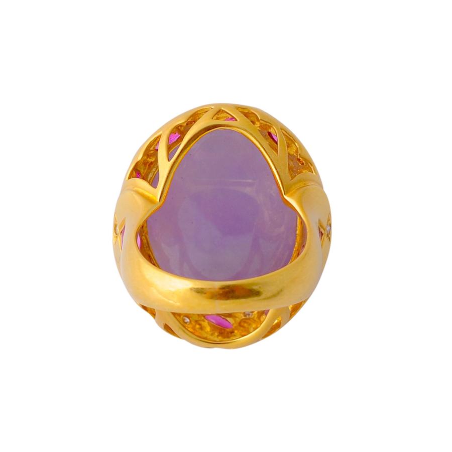 紫翡翠 指輪(3)