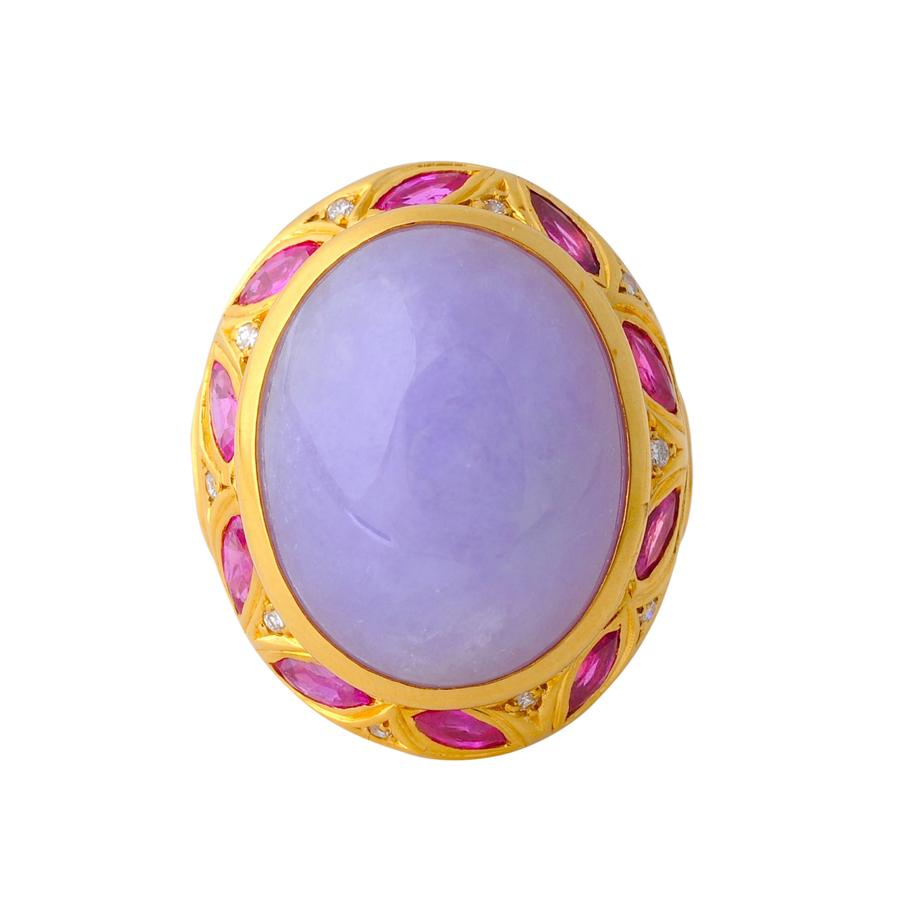 紫翡翠 指輪(1)