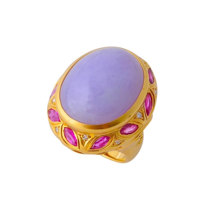 紫翡翠 指輪(2)