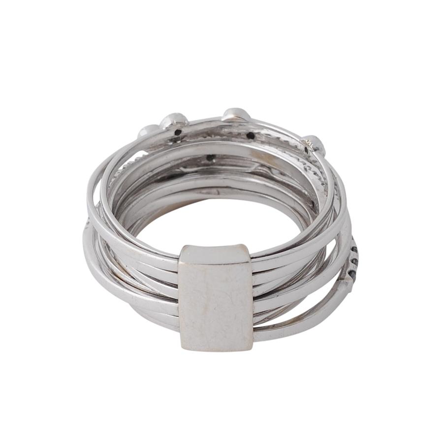 ゼブラの輪 指輪(3)