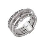 ゼブラの輪 指輪