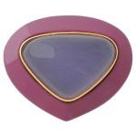 深紫漆リング カルセドニー(2)