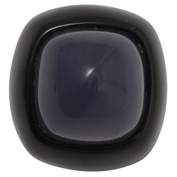 黒漆リング カルセドニー(紫)(2)